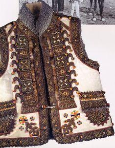 FolkCostume: Kyptar, Hutsul Sheepskin Vest