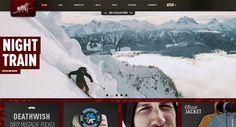 20 Web Designs with Beautiful Landscape Photos