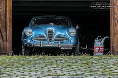 1953 Alfa Romeo 1900 Supersprint Superleggera - With 5-speed gearbox and all alloy bodywork, but with drum brakes all around.