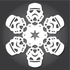 Everyone knows how to make paper snowflakes, but the kind you learn to cut in Kindergarten can get a little boring. The upside is that they're free DIY holiday decorations. If you want the best of both worlds, try these Star Wars snowflakes designed by Anthony Herrera. Don't Miss: Origami Naboo Starfighter & Other Star Wars Starships Don't Miss: Build Star Wars Christmas Tree Ornaments Out of LEGOs C-3PO. Chewbacca. R2-D2. Boba Fett. Darth Vader. These are similar to other ones we've seen…