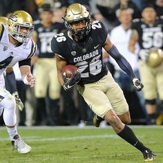 Isaiah Oliver taking it to the house. Buffs win, 20-10. #theriseisreal #gobuffs