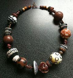 Inspiration Ronna Sarvas Weltman - Bijoux et perles en pâte polymère