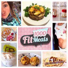 Conoce 1000 fit meals. Recetas fitness, ideas, bajas en calorias, deliciosas!