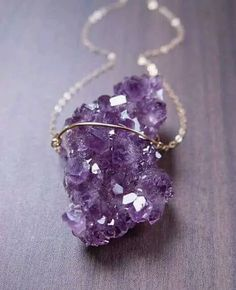 Gorgeous purple pendant