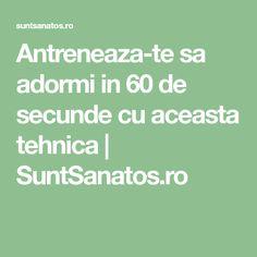 Antreneaza-te sa adormi in 60 de secunde cu aceasta tehnica   SuntSanatos.ro