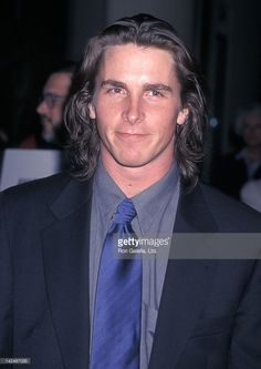 Actor Christian Bale attends the Fund for Animal's 12th Annual Genesis Awards on March 28, 1998 at the Beverly Hilton Hotel in Beverly Hills, California.