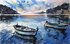 Buy Boats, Watercolour by Kovács Anna Brigitta on Artfinder. Discover thousands of other original paintings, prints, sculptures and photography from independent artists.