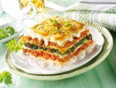 Lasaña vegetal. #lasaña #verduras #pasta