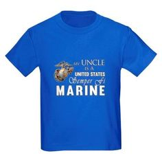 My Uncle is a Semper Fi Marine t-shirt. Great for nieces and nephews of a US Marine who want to show their pride in the USMC