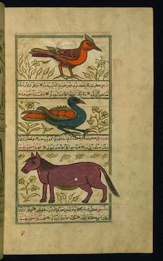 Turkish version of the Wonders of creation, Three angels, Walters Manuscript W.659, fol. 48b by Walters Art Museum Illuminated Manuscripts, via Flickr