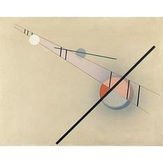 Painted in 1923.  signed  Moholy-Nagy  and titled on the reverse  oil on canvas