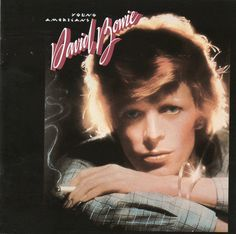 "David Bowie - Young Americans My favorite Bowie album. The ""plastic soul"" era as they called it. Background vocals by one Luther Vandross. See also The Thin White Duke, a stage character Bowie created during the tour for this album. Chuck Palahniuk, Ziggy Stardust, Fight Club, Brixton, David Jones, John Lennon, Eminem, Lps, Iggy Pop"