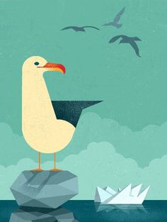 East End Prints - Seagull by Dieter Braun, £19.95 (http://www.eastendprints.co.uk/seagull-by-dieter-braun/)