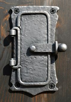 Speak Easy Portal Door Hand Forged Iron