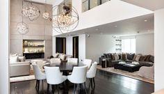 Luxus harmónia, íves formavilág a gyönyörű londoni lakásban