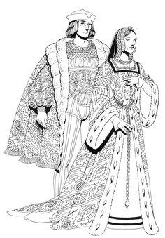Personnages Renaissance, début XVI