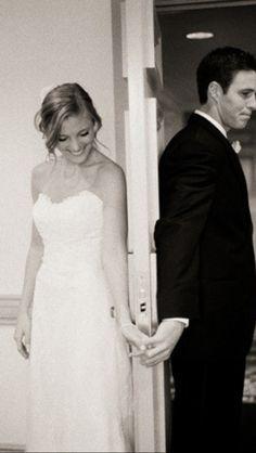Cutest pre wedding pic!!