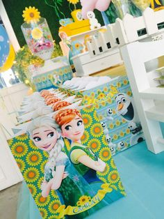 Frozen Fever Birthday Party Ideas | Photo 7 of 20