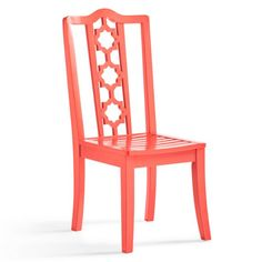 Victoria Side Chair - Grandin Road - 4 colors - $199 each - painted mixed wood