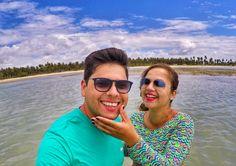 Praia Perfeita para um casal.