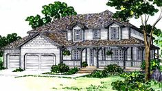 Eplans Country House Plan - Traditional and Compact - 1656 Square Feet and 3 Bedrooms from Eplans - House Plan Code HWEPL56380