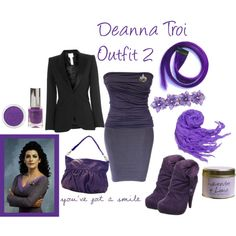 Deanna Troi Outfit 2 - Polyvore