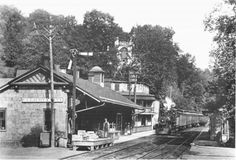 B and O Railroad Station in Ellicott City