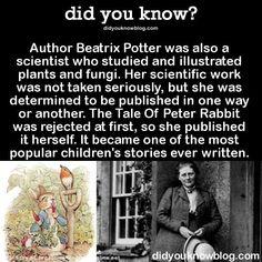 Beatrix Potter, botanist