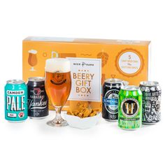 Rammed to the rafters with 5 incredible beers, a packet of luxury coriander Karkli (an awesome crunchy snack which makes the perfect beer partner) and one of our own super stylish Beer Hawk Aviero glasses - our Beery Gift Box is the perfect treat for Dad on Father's Day.