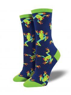 3d346eac6316 My Socks, Crazy Socks, Funny Socks, Cool Socks, Tree Frogs, Sock
