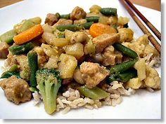 Thai Vegetable Curry    http://fatfreevegan.com/blog/2012/02/10/easy-thai-vegetable-curry/