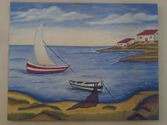 O barco do pescador