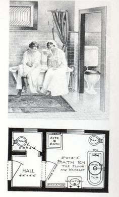 The History of the Bathroom Part 3: Putting Plumbing Before People : TreeHugger