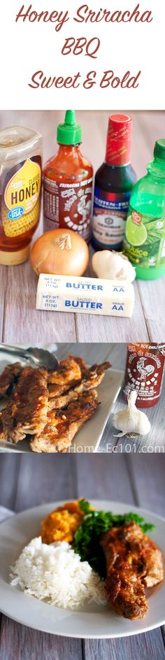 Sweet, bold, and spicy, this garlic sauce is great on ribs, riblets, and chicken wings.