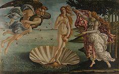 Sandro Botticelli Sandro, Birth Of Venus Botticelli, Galerie Des Offices, Arte Punk, Hokusai, The Birth Of Venus, Spanish Artists, Art Institute Of Chicago, Italian Artist