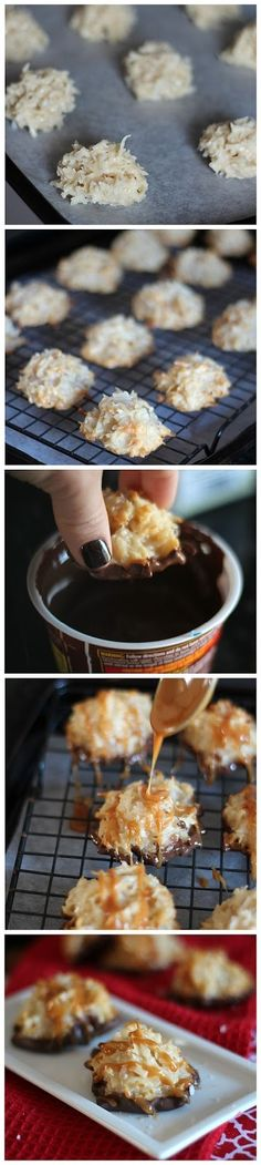 Salted-Caramel-Coconut-Macaroons-Recipe by jetta.noble