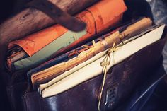 Letter Writing, Mail Art, Bookbinding, Journal Inspiration, Story Inspiration, Journal Ideas, Moleskine, Stationery, Letters