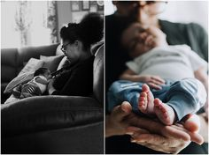 Beautiful in home documentary newborn photo session. c. Molly Balint