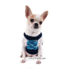 Dark blue cotton dog harness very soft and comfortable for puppies or teacup dogs. This puppy harness made from 100% cotton yarn material with adjustable hook & loop fastener. It is a choke free harnesses will not hurt your lovely trachea. Designed and handmade crocheted by Myknitt Designer