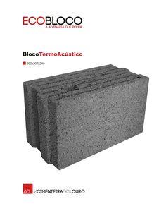 BlocoTermoAcústico  #acl #aclouro #acimenteiradolouro #bloco #betao #concrete #construcao #construction #design #arquitectura #architecture #architektur