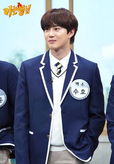 Suho - 181225 JTBC Knowing Brothers website update