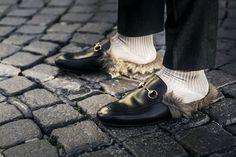 обувь гуччи с мехом - Поиск в Google