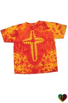 Tie Dye T-Shirt | Phoenix Cross Tie Dye T-Shirt