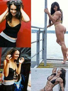 Cindy Landolt: before and after
