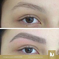 """1,497 Likes, 231 Comments - LuMakeUp (@lumakeupbr) on Instagram: """"Bonito é ser natural! Agende seu horário na Lu Make Up!   #lumakeup #micropigmentação…"""""""