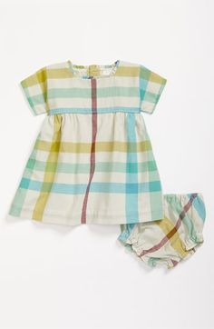 I adore this little Burberry sundress in other colors than their norm.