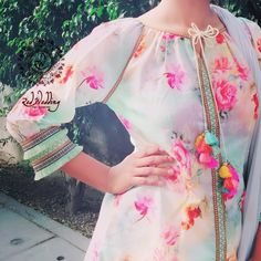 Stunning and Unique Sleeves Designs for Dresses - Kurti Blouse Pakistani Dresses, Indian Dresses, Indian Outfits, Sleeves Designs For Dresses, Sleeve Designs, Kurta Designs, Blouse Designs, Simple Dresses, Casual Dresses
