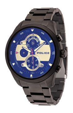 Police Men's Watch, Blue Laser Coat and..