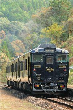 漆黒のボディが印象的! JR九州【特急・はやとの風】|おじゃかんばん『鉄道の写真日記』