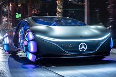 Mercedes-Benz VISION AVTR is developing a vision for the future of mobility Mercedes Auto, Mercedes Benz For Sale, Mercedes Benz Autos, Subaru, Mercedes Concept, Car 3d Model, Mercedez Benz, Volkswagen, Toyota